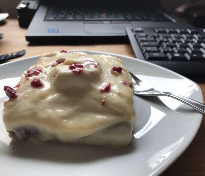 Bananen-Protein-Schnitten