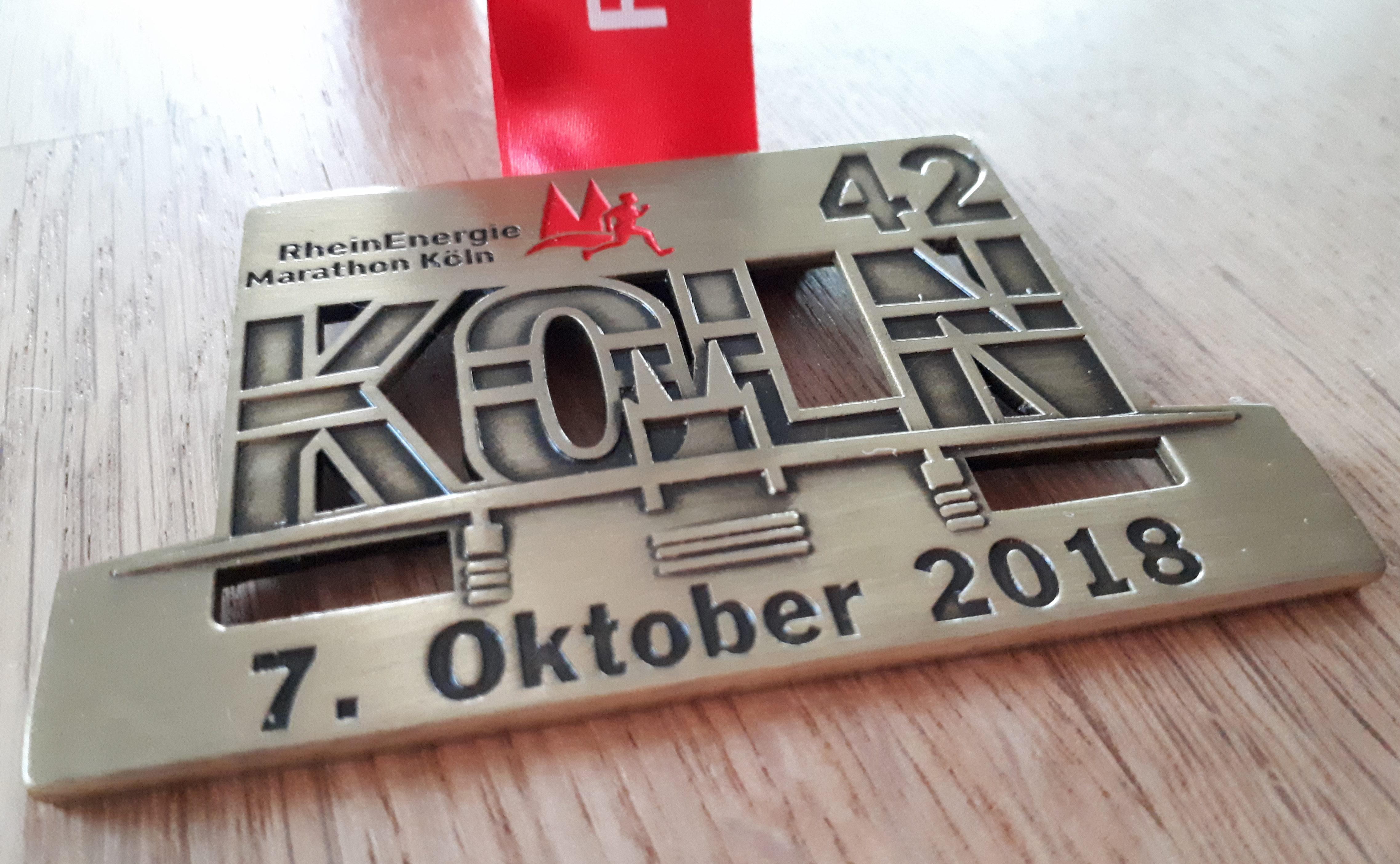 Kölnmarathon – Teil 1