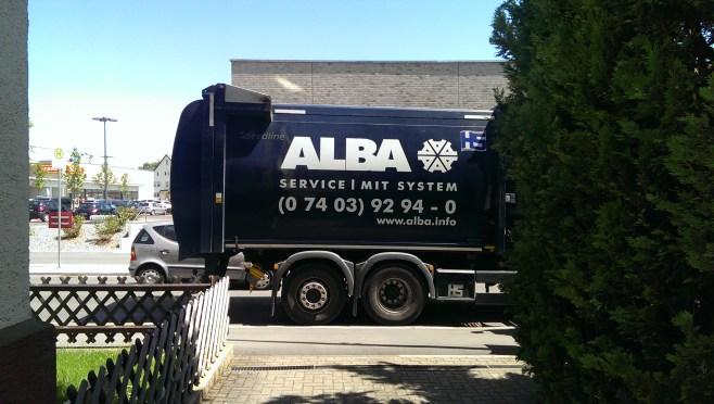 ALBA-Fahrzeug in Trossingen