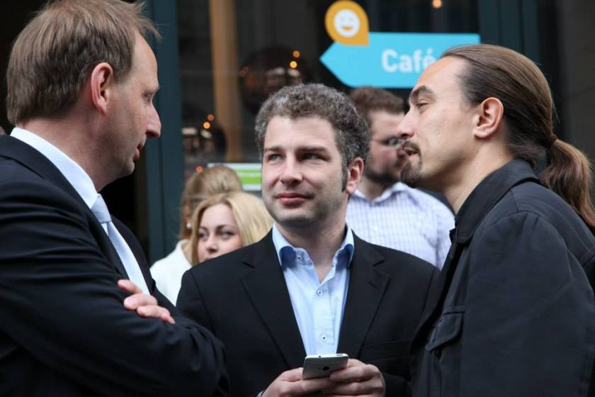 Thomas Heilmann, Christian Wohlrabe, Marc Wohlrabe