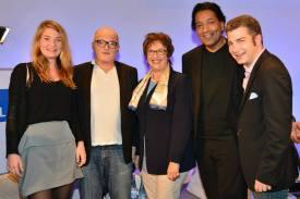 Karolin Quandt, Christoph Kappes, Brigitte Zypries, Cherno Jobatey, Christian Wohlrabe