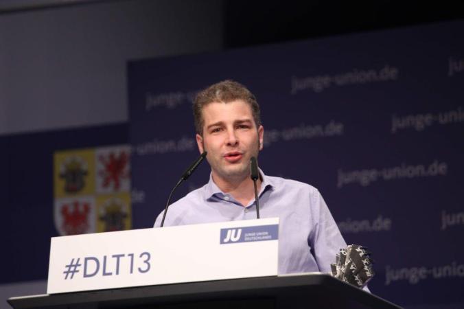 Verabschiedung von der JU beim Deutschlandtag 2013