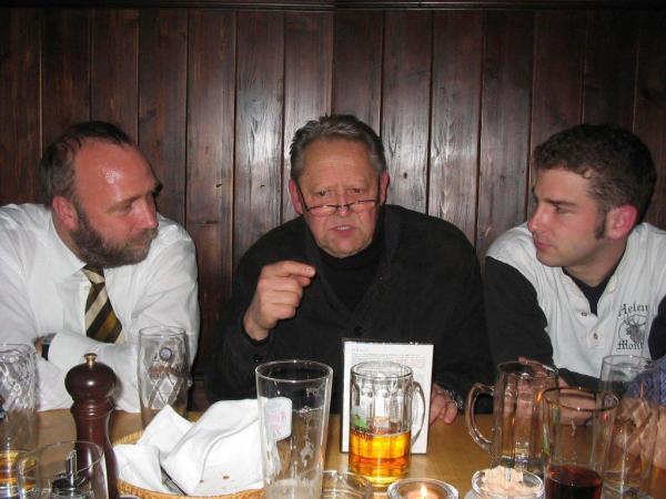 Mit Günter Schabowski und Günter Nooke nach einer Veranstaltung