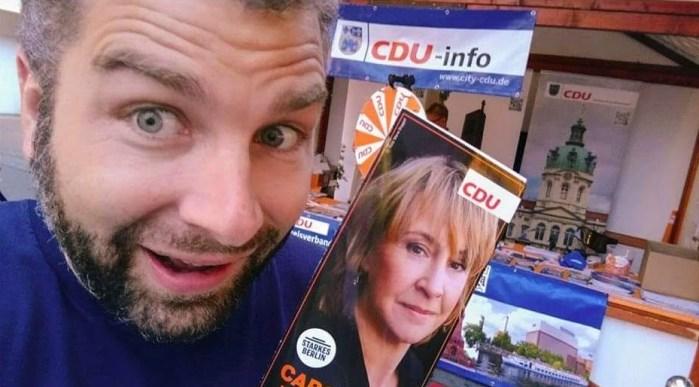 Wahlkampf 2016 im Wahlkreis 3 für Carola Zarth