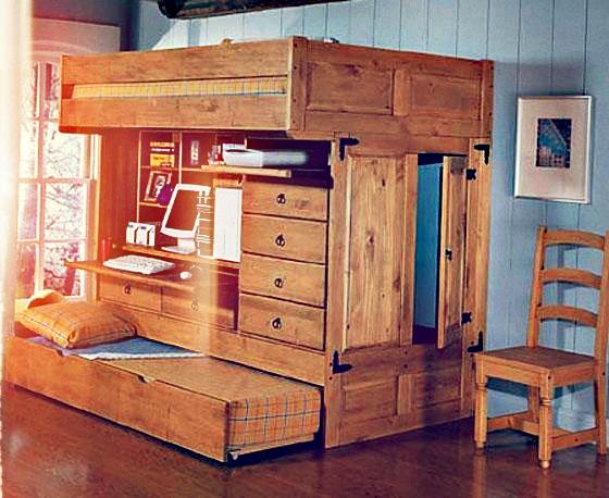 Kompaktmöbel für zwei Kinder – wohnbu.de