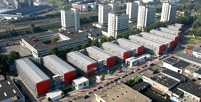 Keetwonen Container City Amsterdam Wohnbu De