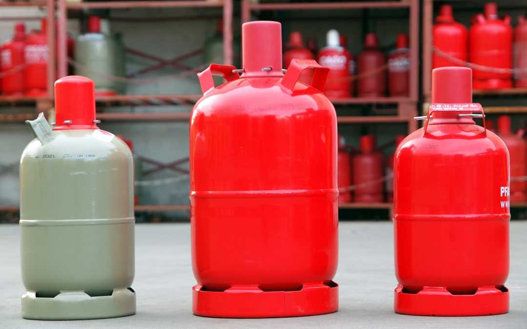 Sichere Aufbewahrung von Campinggas Flaschen