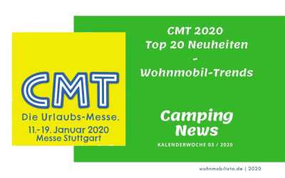 Camping News Wochenrückblick – KW03/2020