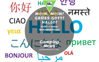 Camping News Wochenrückblick – KW27/2020