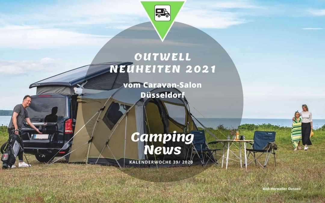 Outwell Neuheiten 2021 | Camping News Wochenrückblick – KW39/2020