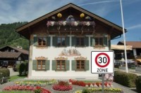 Gemeinderat Wallgau Tempo-30-Zone