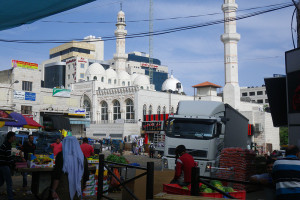 Foto Markt inklusive Moschee