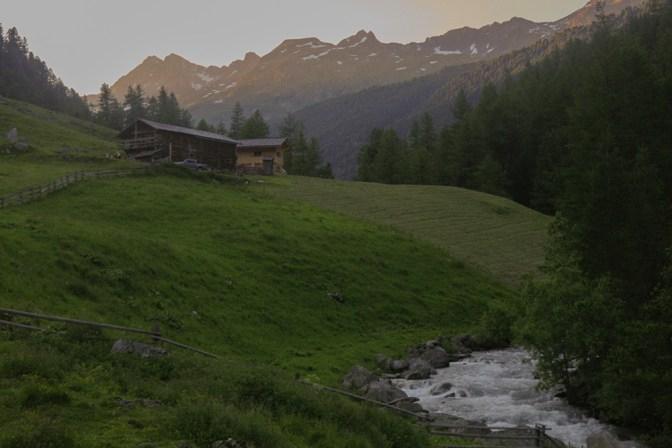 Foto Bilderbuch Alpen