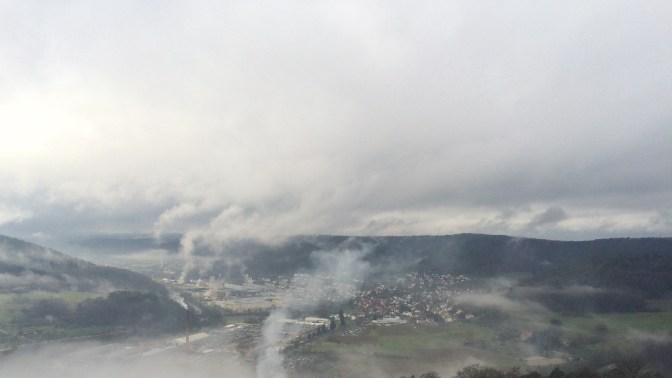 Foto Aussicht Burg Breuberg