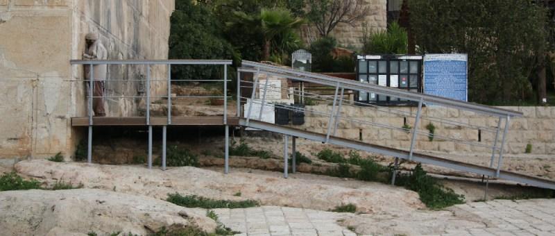 Foto Betender Jude an der Patriarchenmauer
