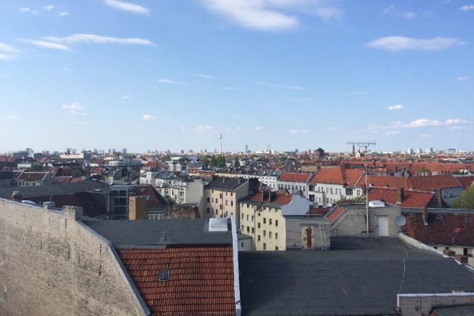 Foto Aussicht Klunkerkranich, Berlin