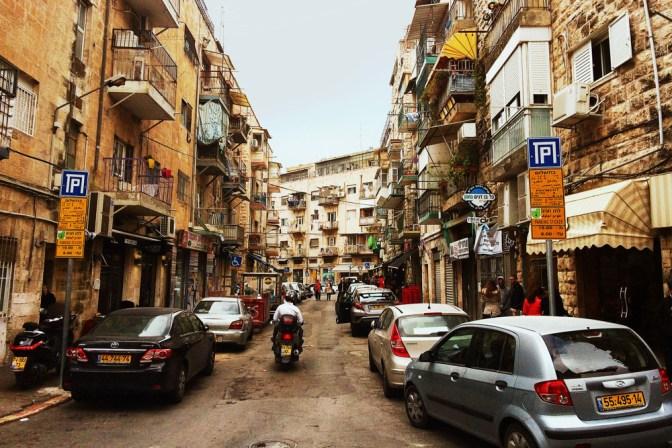 Foto Straßenszene in Jerusalem