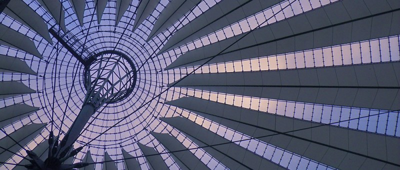 Foto Decke des Sony Centers