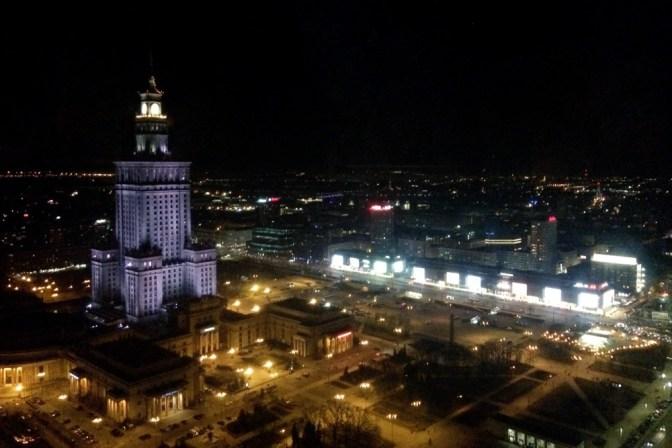 Foto Kulturpalast bei Nacht