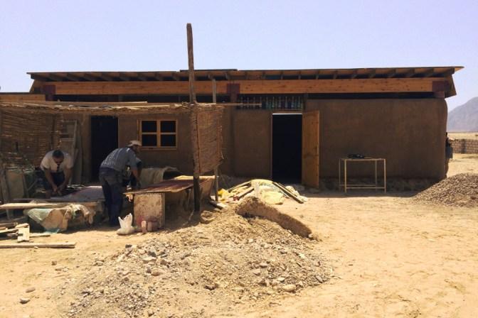 Foto Hier entsteht ein Lernzentrum