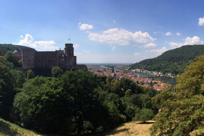 Foto Aussicht über Heidelberg