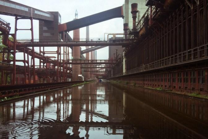 Foto Kohleanlage Zeche Zollverein