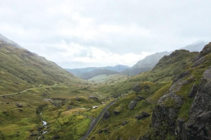 Foto Berglandschaft Schottland