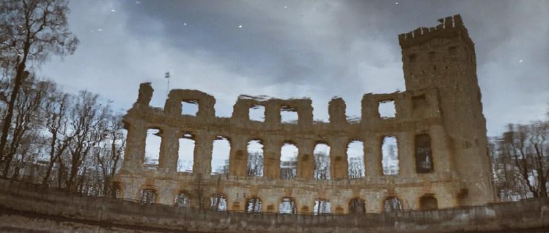 Foto Wässrige Ruine