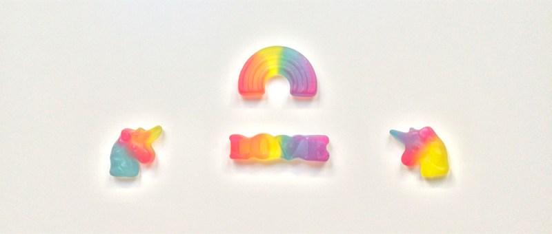 Foto Einhörner, Liebe und Regenbogen