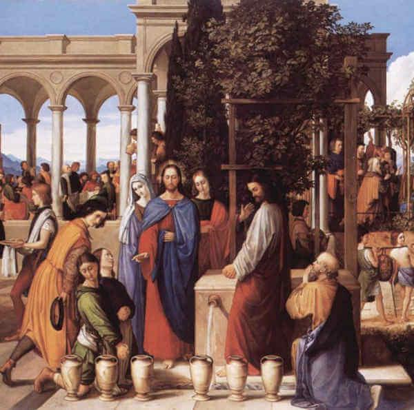 Tajemnice światła różańca świętego Objawienie się Jezusa w Kanie Galilejskiej