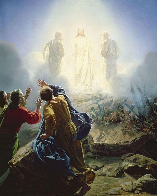 Tajemnice światła różańca świętego Przemienienie Pańskie na górze Tabor