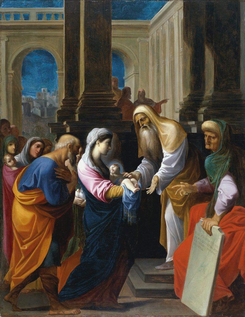 Ofiarowanie Pana Jezusa w świątyni   Tajemnice radosne różańca świętego