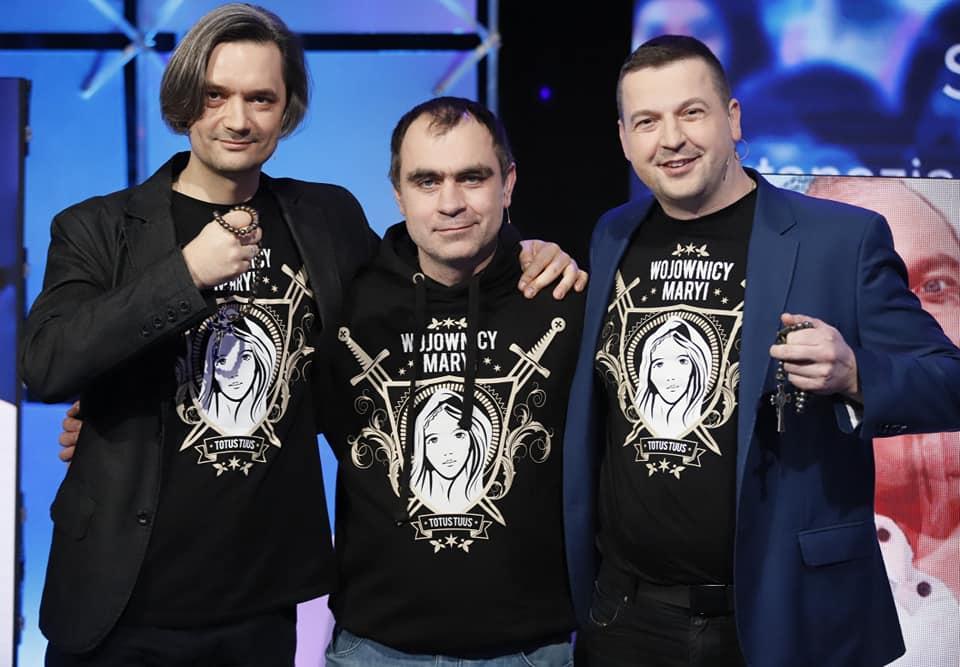 """Read more about the article Wojownicy Maryi w TVP1 programie Rafała Porzezińskiego """"Ocaleni"""""""