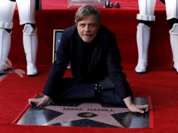 Mark Hamill Gets his Star on Hollywood Walk of Fame