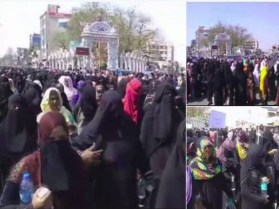 Muslim Women Take to Streets Against Triple Talaq Bill