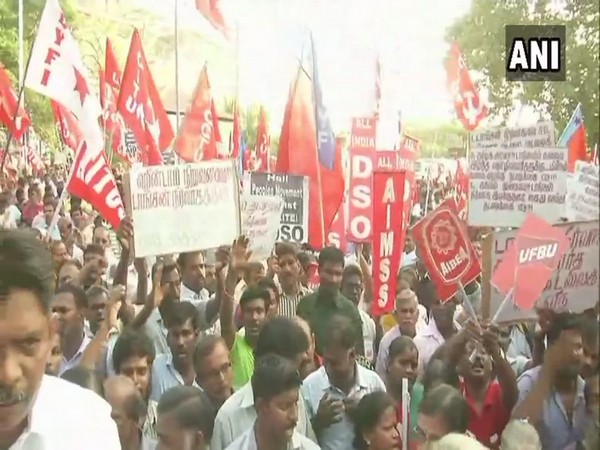 Left-wing Organisations Protest Over Sterlite Deaths