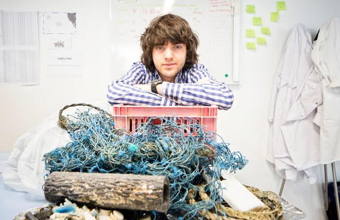 Boyan Slat Ocean Cleanup en Wokii