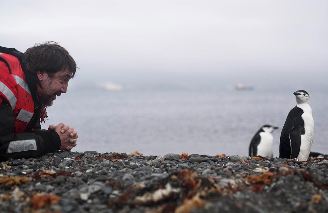 Junto a Greenpeace, Javier Bardem lucha por los océanos