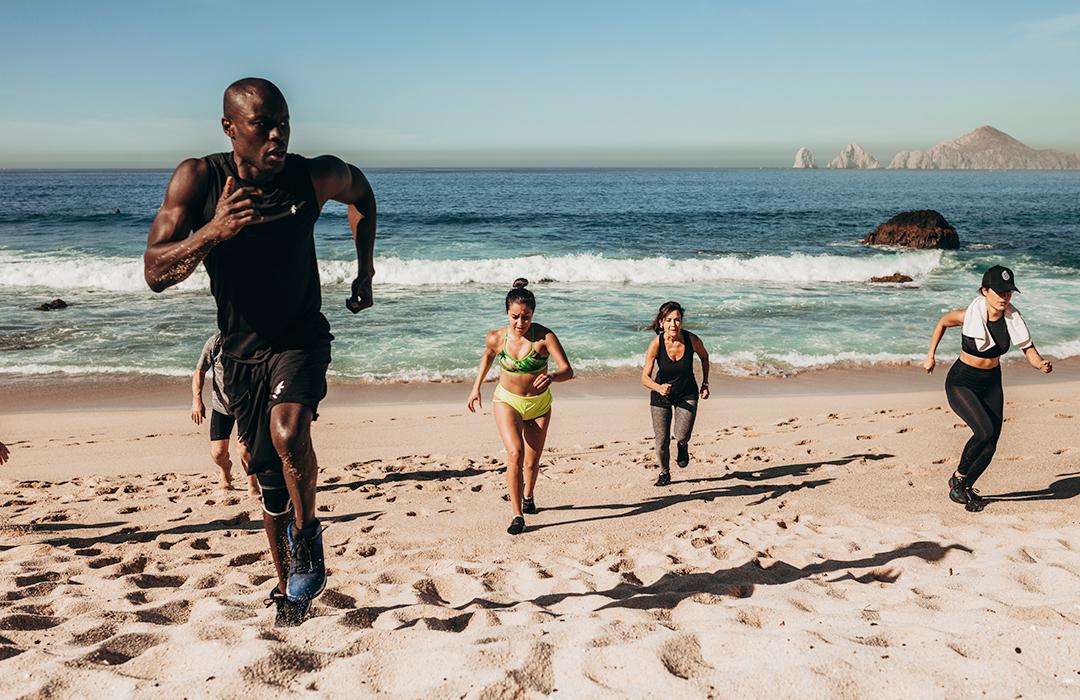 Modu Seye te pone en forma en Los Cabos