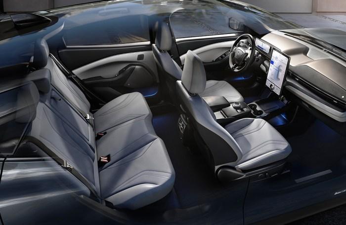 Mustang eléctrico en Wokii