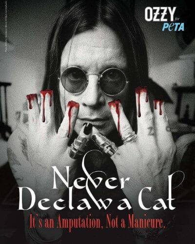 Ozzy Osbourne y PETA en Wokii