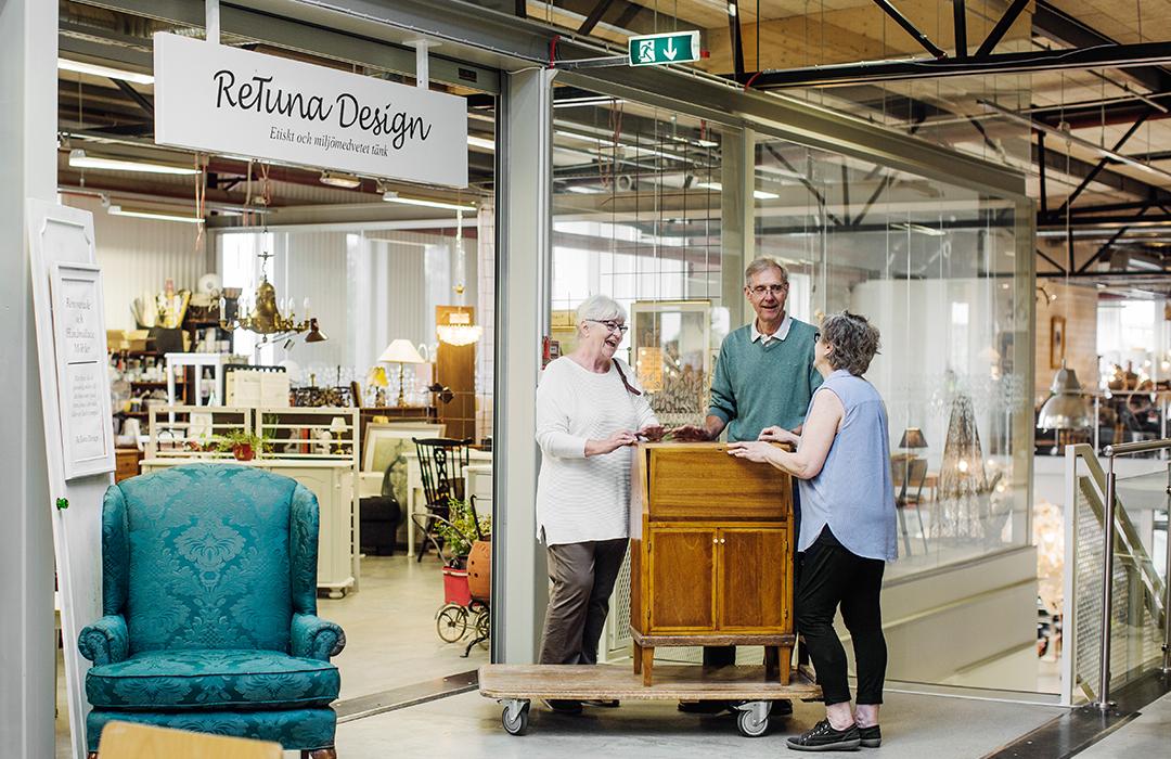 ReTuna, el mall que sólo vende reciclado y sostenible