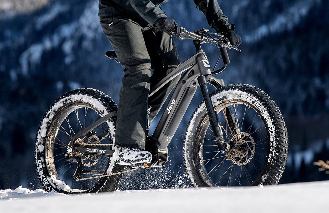Jeep introduce bicicleta eléctrica de montaña