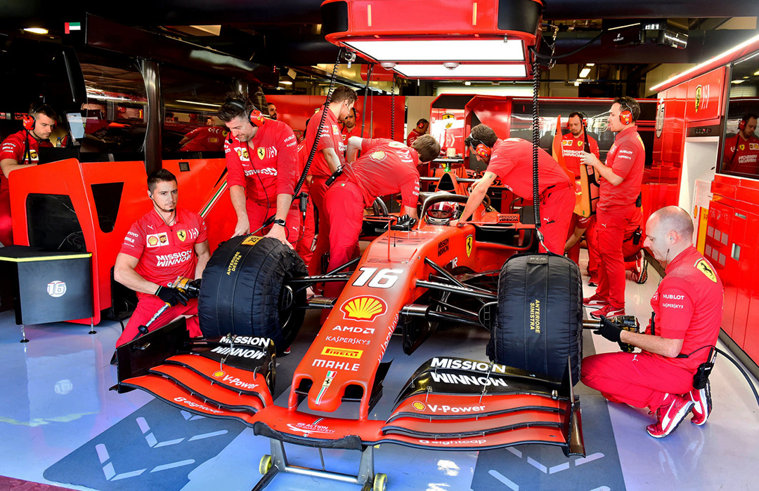 Ferrari se suma a la carrera contra el coronavirus