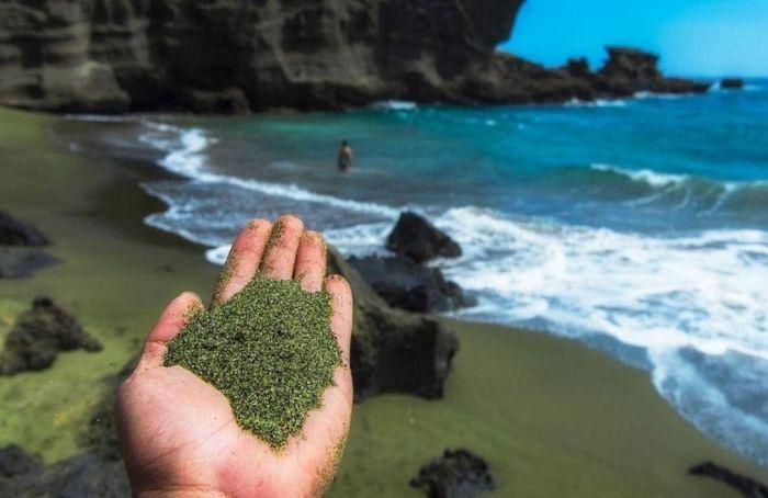 Playas de arena verde: una solución efectiva contra el cambio climático