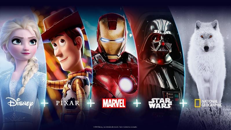 Disney+ llegará en noviembre y estas son las películas que podrás ver