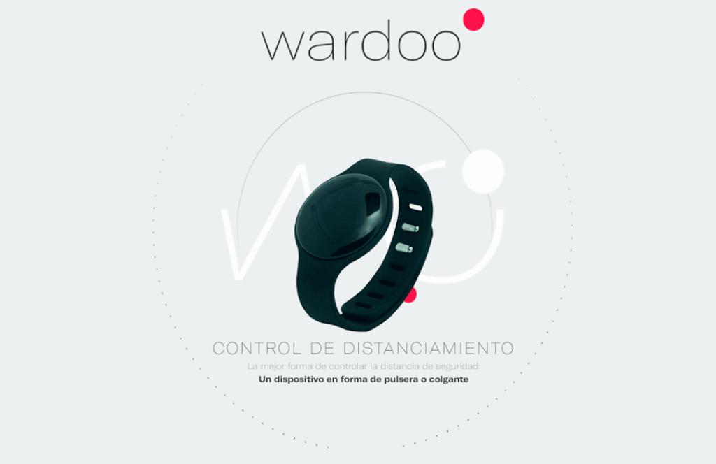 Conoce Wardoo, el dispositivo que te ayuda a mantener la distancia social