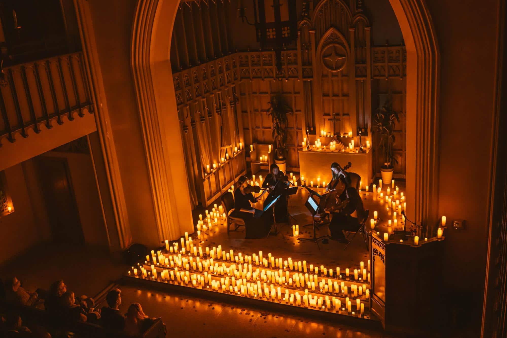 Candlelight: los conciertos a la luz de las velas llegan a México