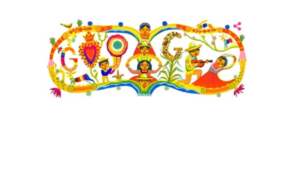 Google celebra a México y sus pueblos indígenas con increíble Doodle