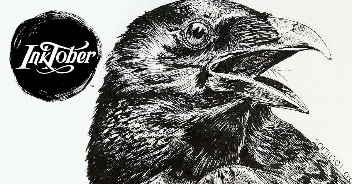Inktober: el reto mundial de dibujar algo distinto durante 31 días seguidos